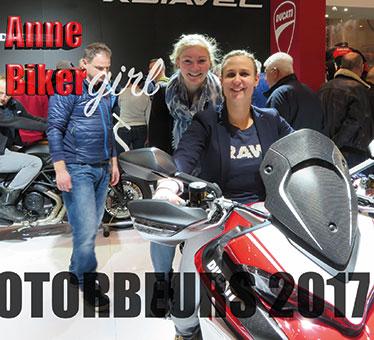 Anne Bikergirl @Motorbeurs Utrecht