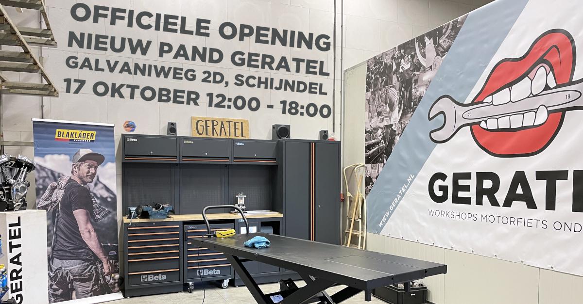Het werd tijd voor een nieuwe locatie voor GERATEL.