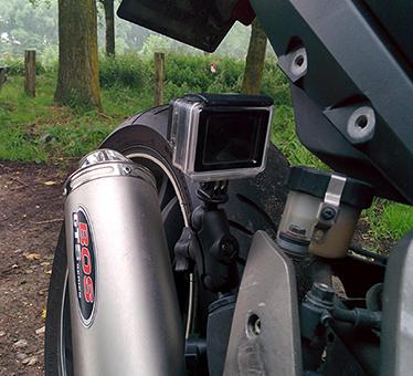 De GoPro Mount van RAM mount