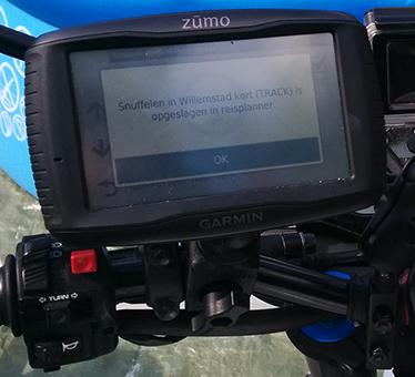 Routes uploaden naar je Garmin Zumo