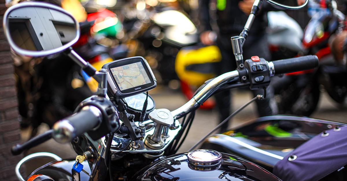 Spannende route TomTom Rider