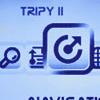 Tripy II het andere navigeren.