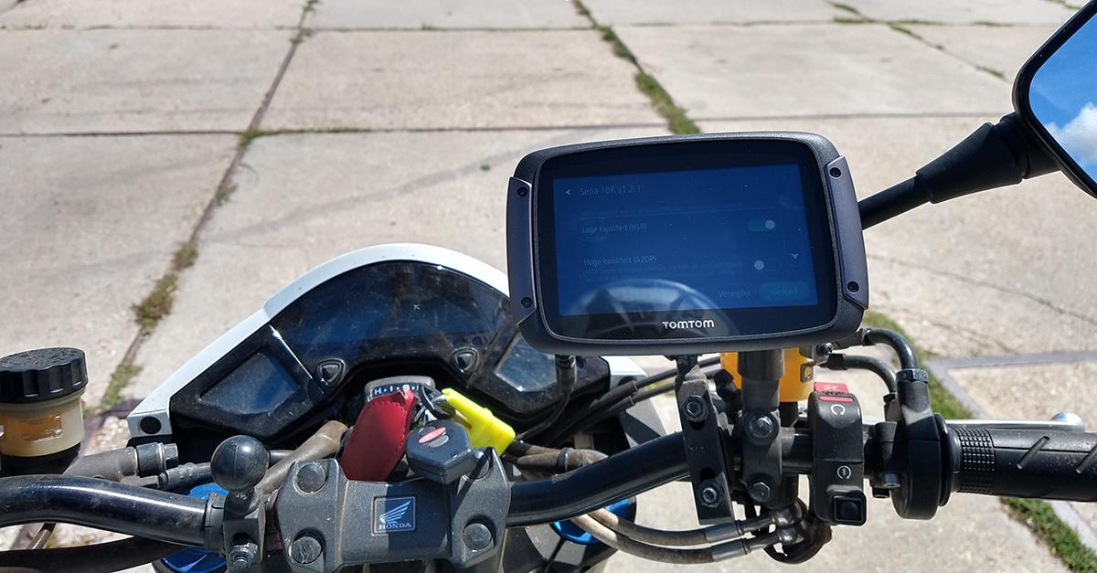 Vertrouwde kilometers met de TomTom rider 550