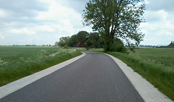Route West-midden-Friesland